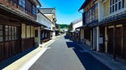 Walking around Uchiko Yokaichi old Town
