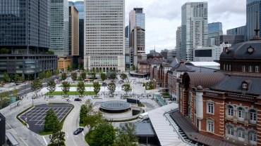 Tokyo station, Marunouchi side