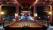 Asakusa Senso-Ji temple by Night