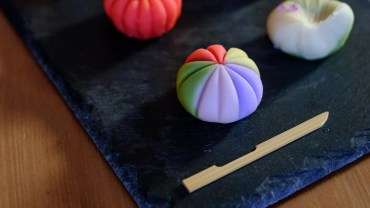 Sweets, colors and shapes