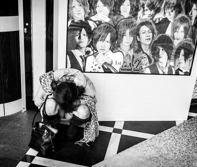 Drunk And Asleep Japanese Girl