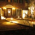 LED照明で素敵な庭