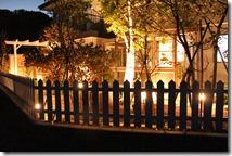 庭のライティング