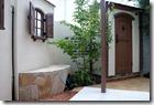 Dea's garden Canna Cute & patio wall c 5041