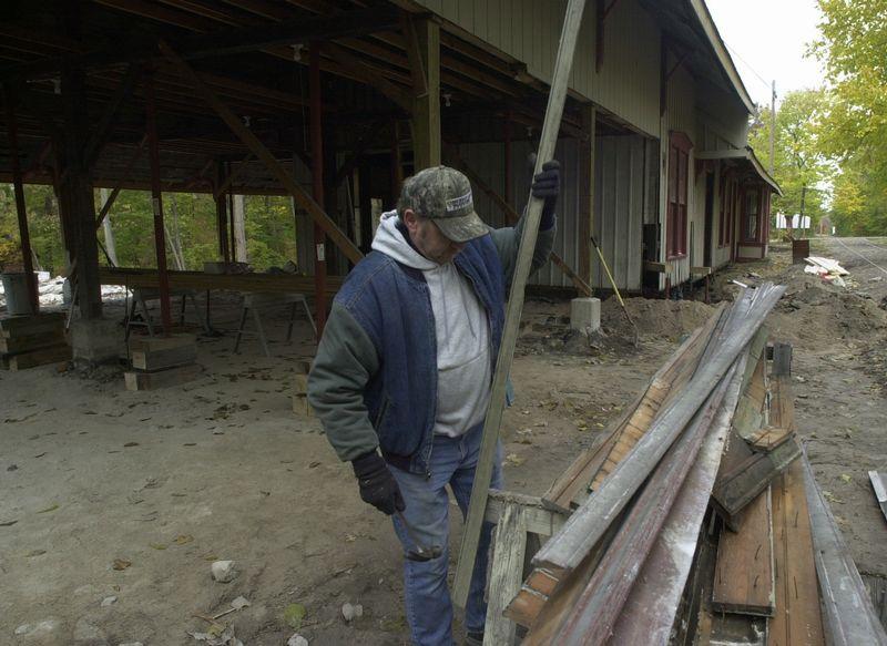 Lakeside On Track Toward Restoration Of Historic Rail Depot The Blade