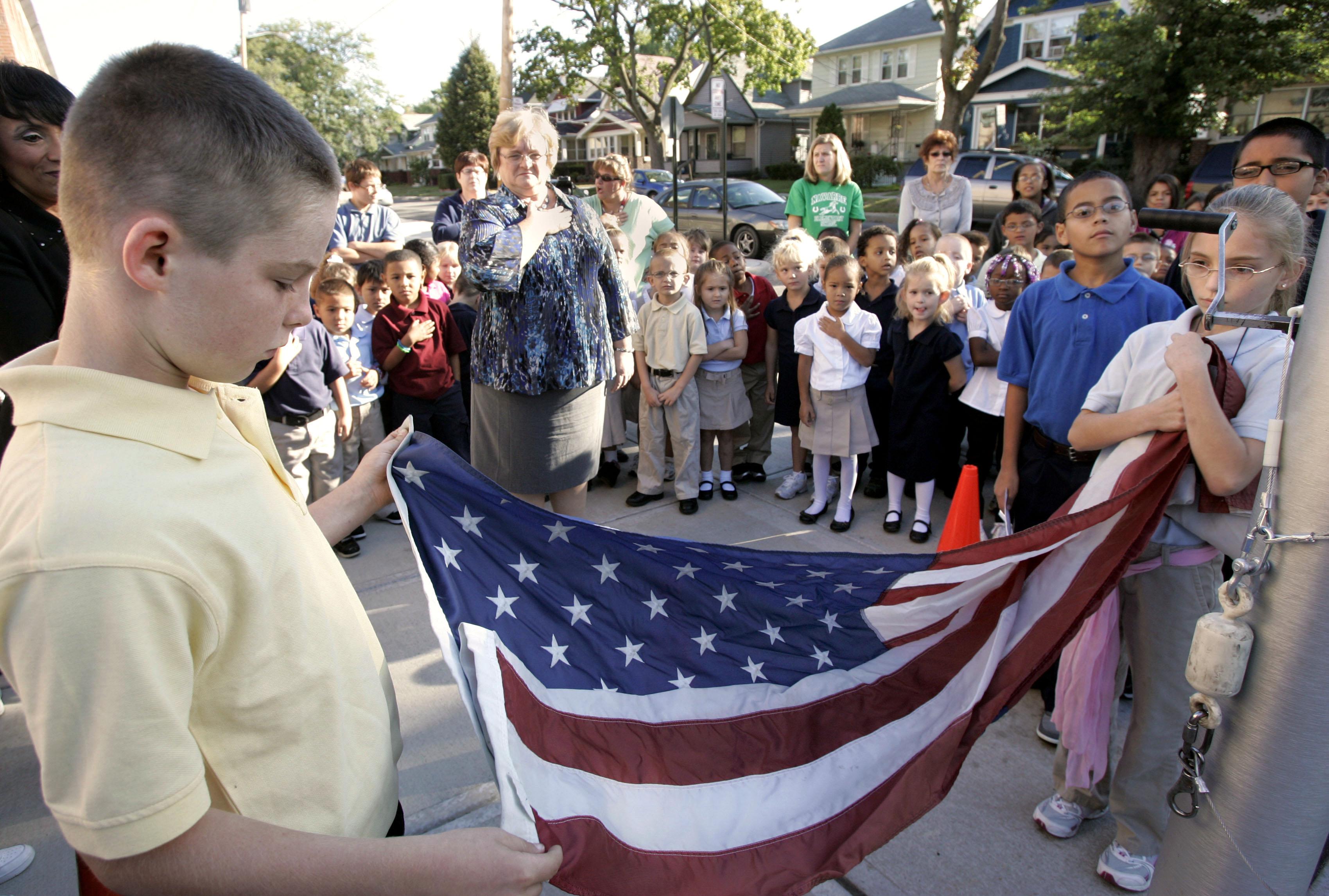 Navarre Elementary Students Remember 9 11