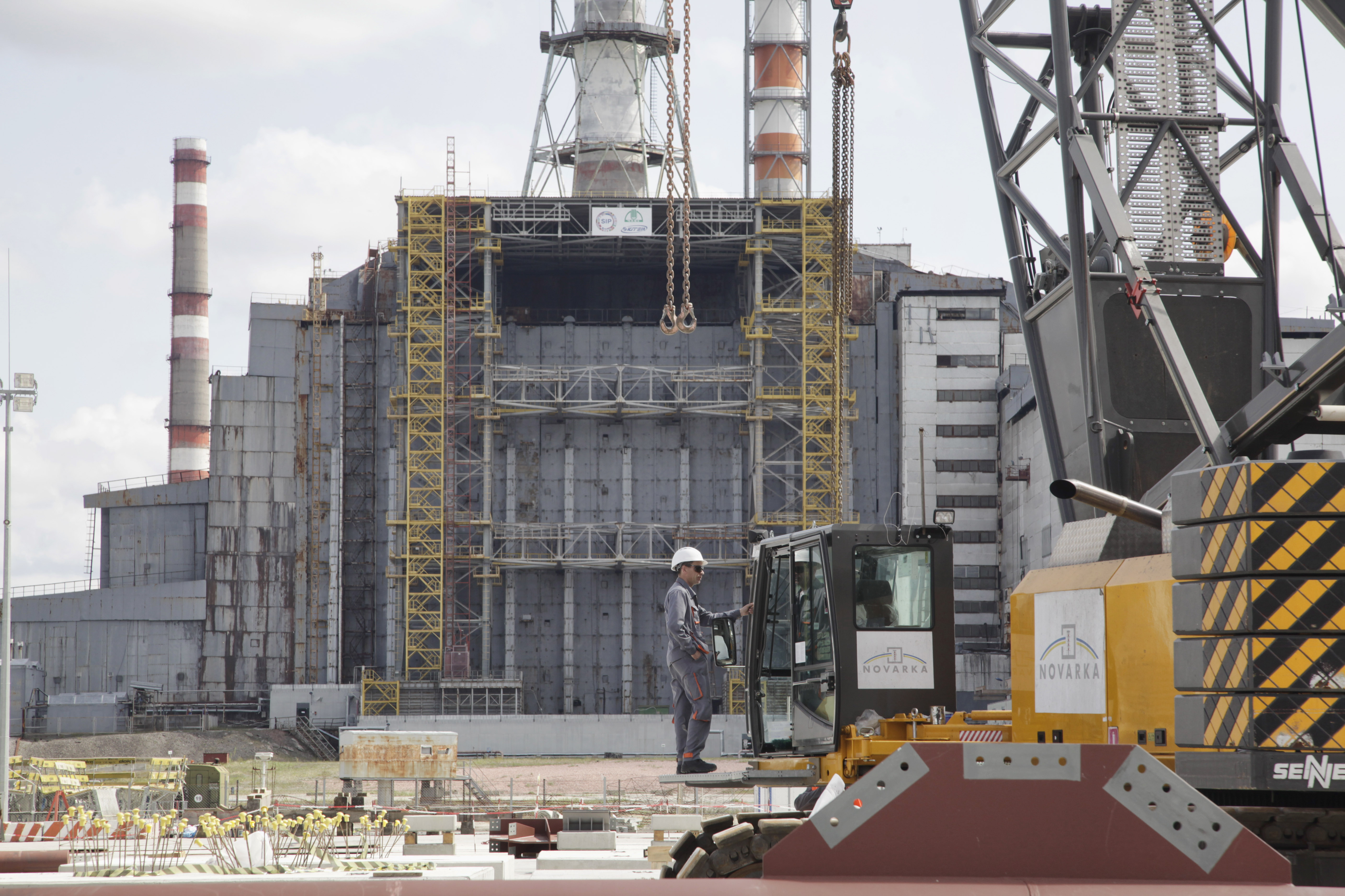 Construction Of New Chernobyl Shelter Begins On 26th