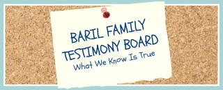 Baril fam testimony board