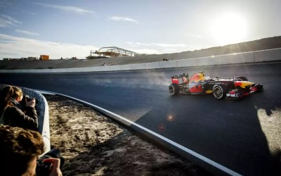 Zandvoort hat ersten Formel-1 Test bestanden