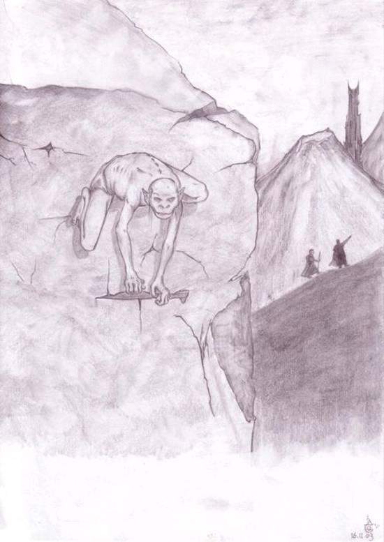 Gollum - Alex Tranquille