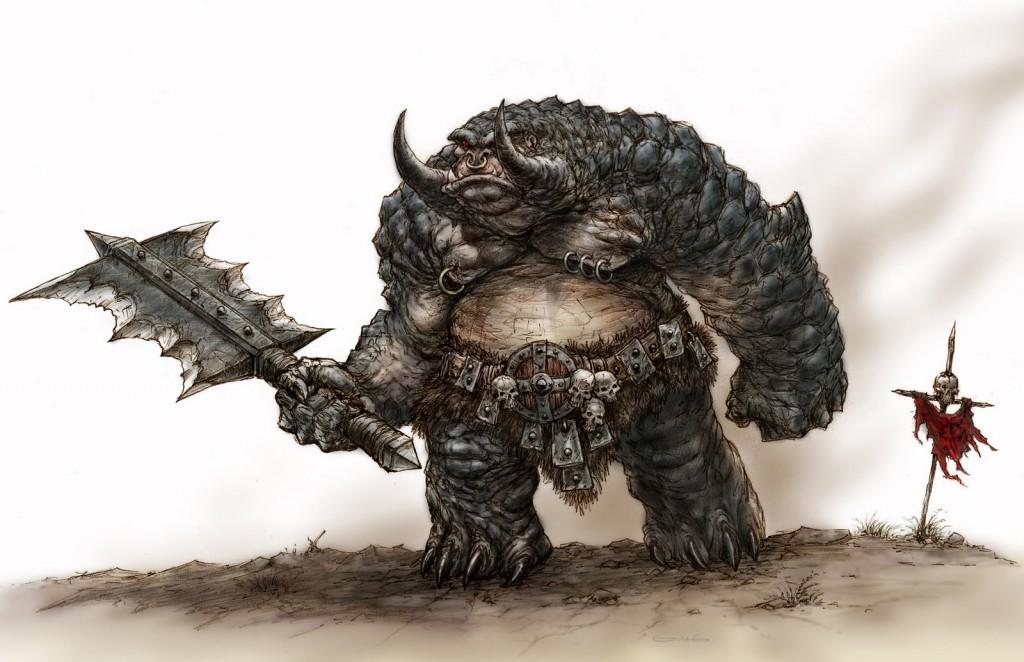 Encore une fois, il s'agit d'un Troll des cavernes mais cette fois dans sa version fantassin, comme on avait pu en voir à la Bataille des Champs du Pelennor