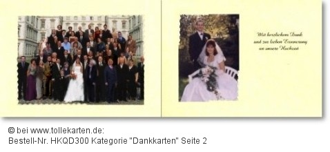 Danksagungskarten von tollekarten.de