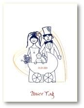 Einladung Fuer Brautpaar Mit Kind