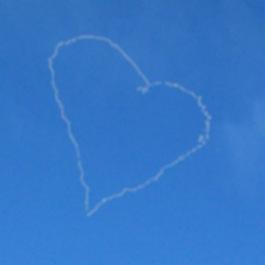 Herz am Himmel: