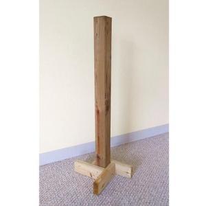 EZ Permit Box Wood Stand