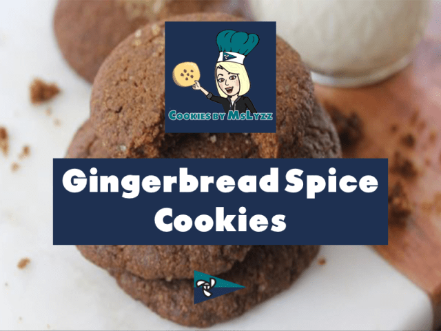 Gingerbread Spice Cookies