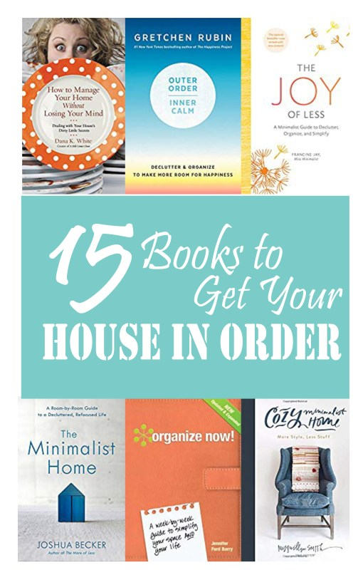 Are you ready to totally transform your home? These books on keeping your home in order will give you the foundation, advice, and motivation you need to make it happen!      #housekeeping #decluttering #springcleaning #homemaking