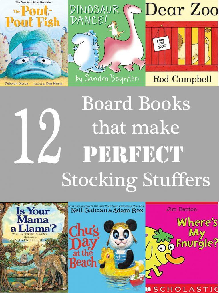 12 Board Books That Make PERFECT Stocking Stuffers!