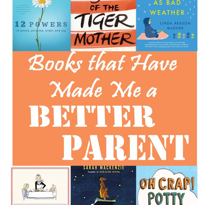 These are the titles that have measurably made me a better mom (as well as some of the titles I can't wait to read next!). #parenting #parentingbooks #parenthood #motherhood #motherhoodbooks #bookrecs