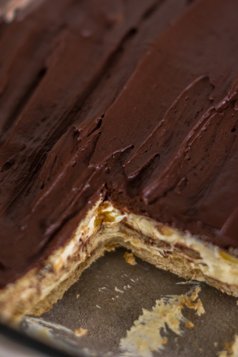 Secret Family Recipe: Chocolate Eclair Pie
