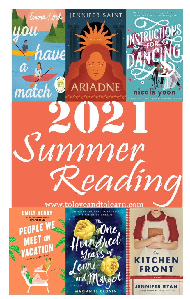 books to read in summer 2021