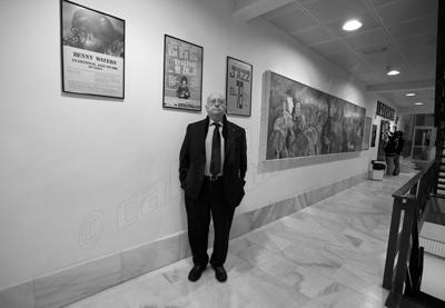 Alejandro Reyes en el vestíbulo del Johnny © Sergio Cabanillas, 2010