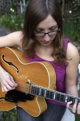Mary Halvorson © Hilary McHone, 2009