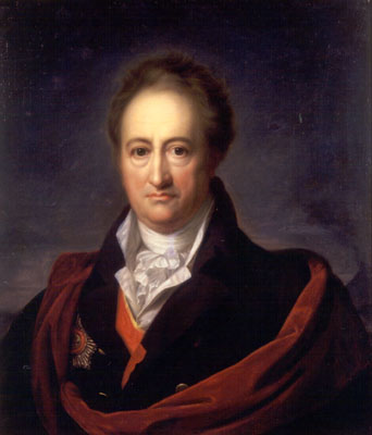 Goethe, la felicidad y la infelicidad