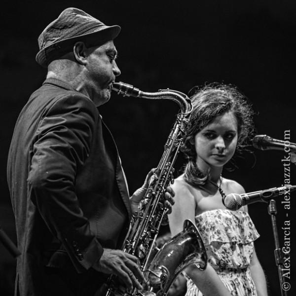 Joan Chamorro y Andrea Motis