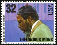 Thelonious Monk Stamp