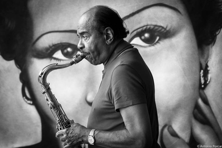 Benny Golson, Peñiscola 2013, Jazz Photo Of The Year 2014 © Antonio Porcar, 2013