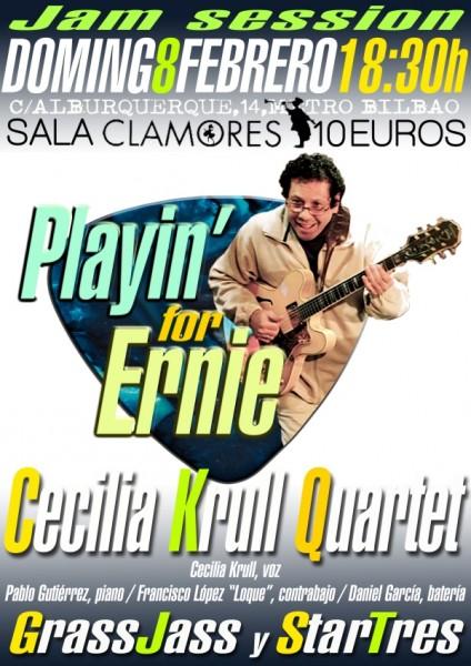 cartel OK Jam playin`for ernie clamores