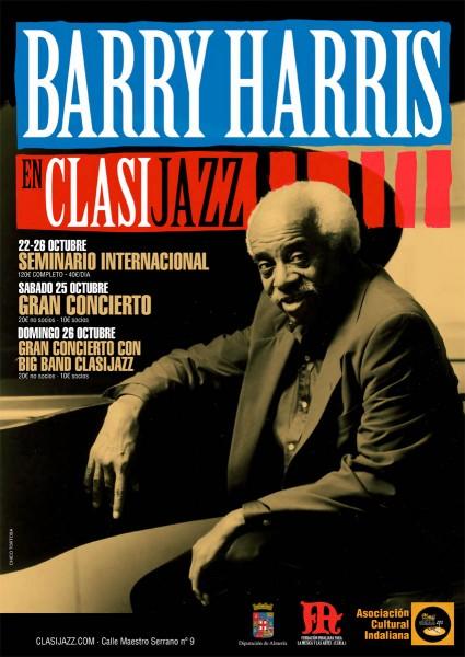 Figura histórica del jazz en directo y dando una master class, Barry Harris pasó por Almería gracias a la Asociación Clasijazz
