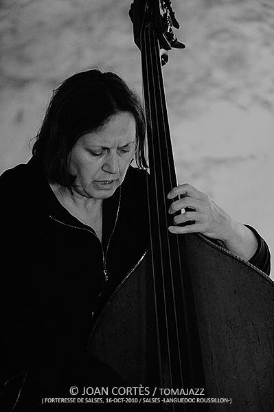 Joëlle Leandre. Forteresse de Salses. 2010-10-16. © Joan Cortès, 2016