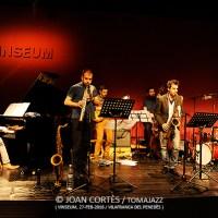 "INSTANTZZ: Joan Vidal Sextet, grabación del disco ""Revisiting Zarathustra"" / (Jazz Club Vilafranca, Auditori de Vinseum, Vilafranca del Penedès -Barcelona-. 2016-02-27)"