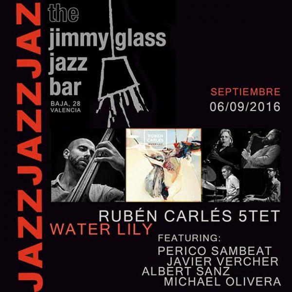 Rubén Carlés Water Lily. 2016-09-09. Jimmy Glass