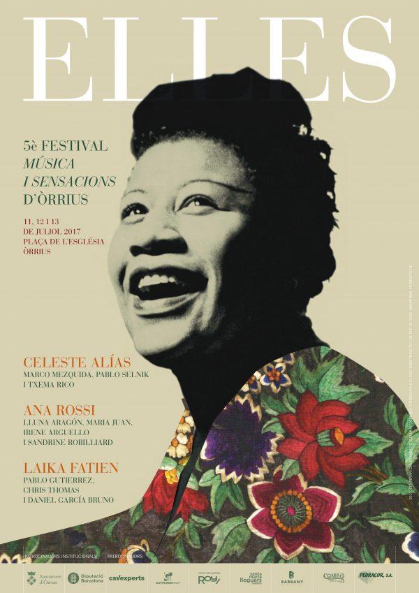 Elles. 5è Festival Música I Sensaciones D'Òrrius (11 a 13 de julio de 2017. Órrius) [Noticias]