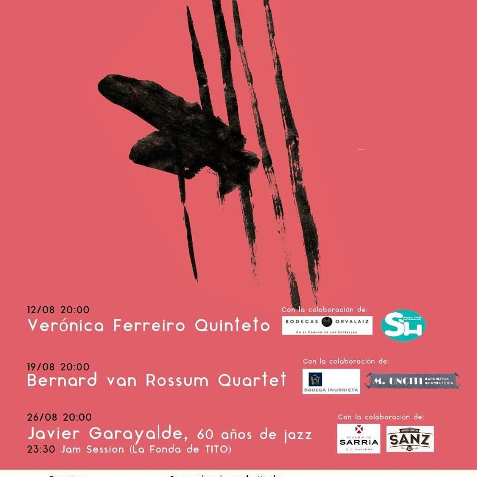 Festival de Jazz Zubipean 2017 (12, 19, 26 de agosto de 2017. Puente La Reina - Gares, Navarra) [Noticias]