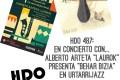 """HDO 487. En concierto con… Alberto Arteta – Laurok presenta """"Behar Bizia"""" en Urtarrijazz [Podcast]"""