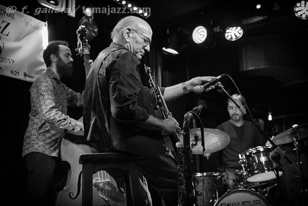 "INSTANTZZ: Dave Liebman ""Spanish Trio"" (International Jazz Day Madrid. Bogui Jazz, Madrid 2019-05-03) [Galería fotográfica]"