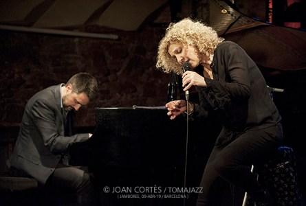"""INSTANTZZ: Carme Canela & Joan Monné """"Ballads"""" (Jamboree, Barcelona. 2019-04-09) [Galería fotográfica]"""