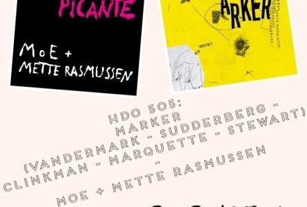 HDO 505. Marker (Vandermark, Clinkman, Marquette…) – MoE + Mette Rasmussen [Podcast]