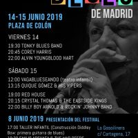 Festival Internacional de Blues de Madrid (14-15 de junio de 2019) [Noticias]