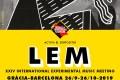 LEM 2019 (Barcelona. 26 de septiembre al 26 de octubre de 2019) [Noticias]