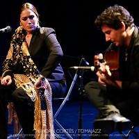 INSTANTZZ: Alicia Morales & Paco Vidal (El Dorado Sociedad Flamenca Barcelonesa, Auditori del Centre Cívic Parc Sandaru, Barcelona. 2021-02-11) [Flamencuras] AKA [Galería fotográfica AKA Fotoblog de jazz, impro… y algo más] Por Joan Cortès