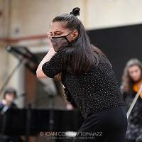 """INSTANTZZ:  Celeste Alías, Clara Lai, Sònia Sánchez & Ariadna Torner, """"Impro day 1 set 1"""" [MMI Festival -Music & More Impro- 2021 (I/VIII), Utopia 126, Barcelona. 2021-05-01] [Galería fotográfica AKA Fotoblog de jazz, impro… y algo más] Por Joan Cortès"""