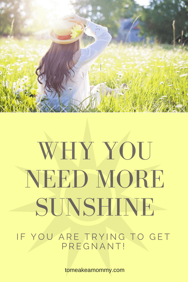 Sunshine & Fertility: Get Outside to Get Pregnant!