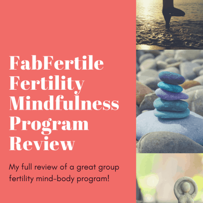 Research shows that fertility Mindfulness group programs lead to nearly tripling the pregnancy rate of those undergoing IVF. Why wouldn't you do a program?