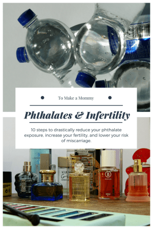 Reducing Phthalates for Fertility: How to reduce infertility, miscarriage, and have a safe pregnancy by reducing exposure to BPA and phthalates