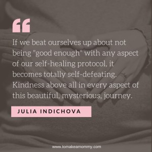 Infertility sucks. Be kind to yourself above all! #ttc #fertility #infertility